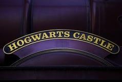 Der Eilzug Hogwarts Lizenzfreies Stockfoto