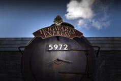 Der Eilzug Hogwarts Stockbilder