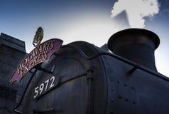 Der Eilzug Hogwarts Lizenzfreie Stockfotos