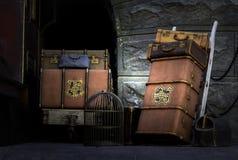 Der Eilzug Hogwarts Stockbild