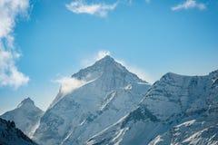 Der Einbuchtung Blanche-Berg stockbild