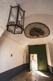 Der Eingang Stockfotografie