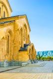 Der Eingang der Kathedrale Stockfoto
