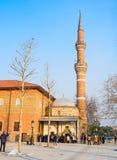 Der Eingang der Moschee Lizenzfreies Stockbild