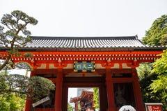 Der Eingang zu Asakusa-Tempel und der alte Sensoji-Schrein, ein berühmter Platz für Besucher Lizenzfreies Stockbild