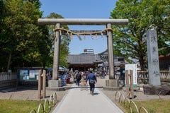 Der Eingang zu Asakusa-Tempel und der alte Sensoji-Schrein, ein berühmter Platz für Besucher Stockfoto