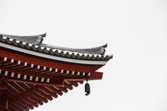 Der Eingang zu Asakusa-Tempel und der alte Sensoji-Schrein, ein berühmter Platz für Besucher Lizenzfreie Stockfotos