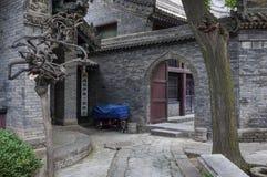 Der Eingang zu Xian Great Mosque in der Stadt von Xian in China Lizenzfreies Stockfoto