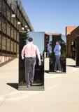 Der Eingang zum Apartheids-Museum, Johannesburg Stockfotografie
