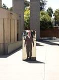 Der Eingang zum Apartheids-Museum, Johannesburg Lizenzfreie Stockfotografie