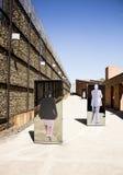 Der Eingang zum Apartheids-Museum, Johannesburg Lizenzfreies Stockfoto