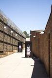 Der Eingang zum Apartheids-Museum, Johannesburg Lizenzfreie Stockfotos