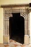 Der Eingang zum sakristy Stockfotografie