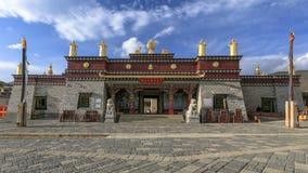 Der Eingang zum Songzanlin Lizenzfreies Stockbild