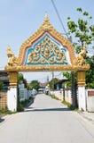 Der Eingang zum Tempel lizenzfreie stockfotos