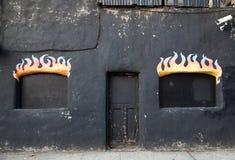 Der Eingang zur Hölle Stockbilder