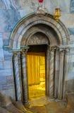Der Eingang zur Krypta Lizenzfreies Stockbild