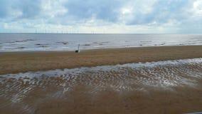 Der einsame Strand Stockbild