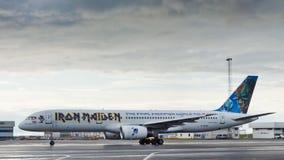 Der Eisen-Maids Flugzeug der Ed-Kraft-eine Stockbild