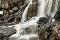 Der ` Eisgraben-` Wasserfall ausführlich Deutschland Stockbild