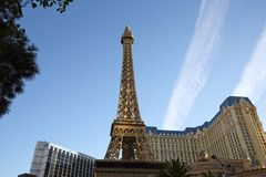 Der Elffel-Turm in Las Vegas lizenzfreie stockfotografie