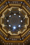 Der Emirat-Palast in Abu Dhabi Lizenzfreies Stockbild
