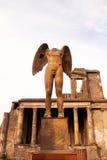 Der Engel enthauptet Stockbild
