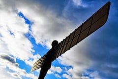Der Engel vom Nord nimmt Flug! stockbilder