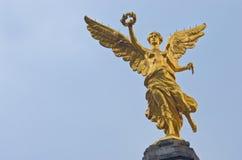 Der Engel von Unabhängigkeit in Mexiko City, Mexiko Lizenzfreies Stockfoto