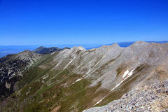 Der epische Koncheto Ridge lizenzfreies stockbild
