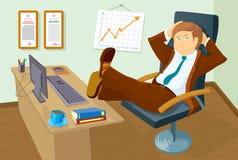 Der erfolgreiche Direktor lizenzfreies stockfoto