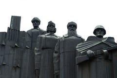 Der Erinnerungskomplex auf Siegquadrat in der Stadt von Voronezh Lizenzfreie Stockbilder