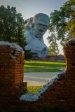 Der Erinnerungskomplex der Brest-Festung in Weißrussland Lizenzfreies Stockbild