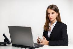 Der ernste Manager Lizenzfreies Stockfoto