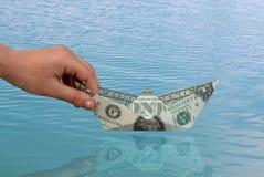 Der erste Dollar Stockbild
