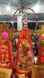 Der erste Tag des ersten Monats ist 'Tian Gong Sheng ' lizenzfreies stockfoto
