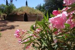 Der Etruscan-Friedhof von Cerveteri Lizenzfreies Stockbild