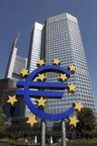Der Europäischen Zentralbank Stockfotos
