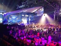 Der Eurovisions-Schlusstag Ukraine, Kyiv 05 13 2017 redaktionell Stadium von Eurovision Lizenzfreies Stockfoto