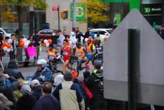 Der Führer Pack 2014 NYC-Marathon-Männer Stockbilder
