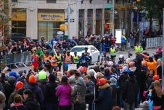 Der Führer Pack 2014 NYC-Marathon-Männer Stockfotos