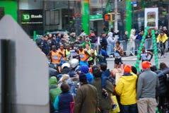 Der Führer Pack 2014 NYC-Marathon-Männer Lizenzfreie Stockbilder