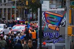 Der Führer Pack 2014 NYC-Marathon-Männer Lizenzfreies Stockbild