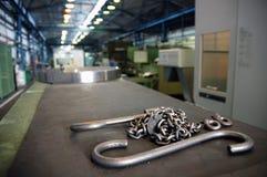 In der Fabrik Stockfoto