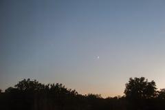 Der Fall von Meteoriten Stockbilder