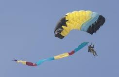 Der Fallschirmspringer Stockfotos