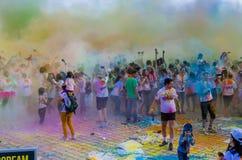 Der Farblauf Bukarest lizenzfreies stockfoto