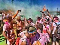 Der Farblaufausflug 2015 Lizenzfreie Stockbilder