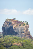 Der Felsen Sigiriya-Löwes, Sri Lanka Stockbild