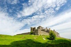 Der Felsen von Cashel, eine historische Stätte gelegen bei Cashel, Grafschaft Tipperary, Irland Stockfoto